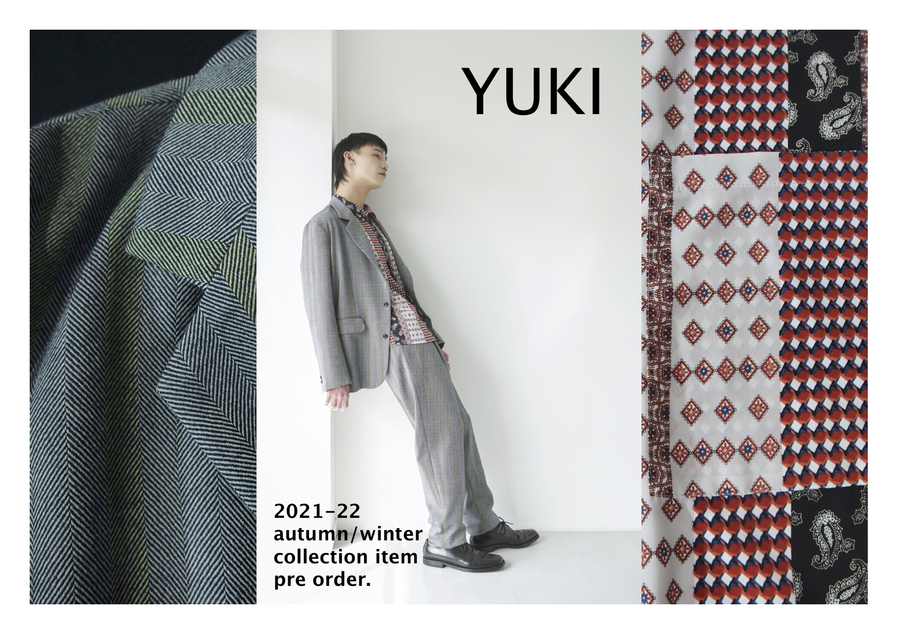 """【recommend】""""YUKI"""" 2021 A/W collection item vol.01"""