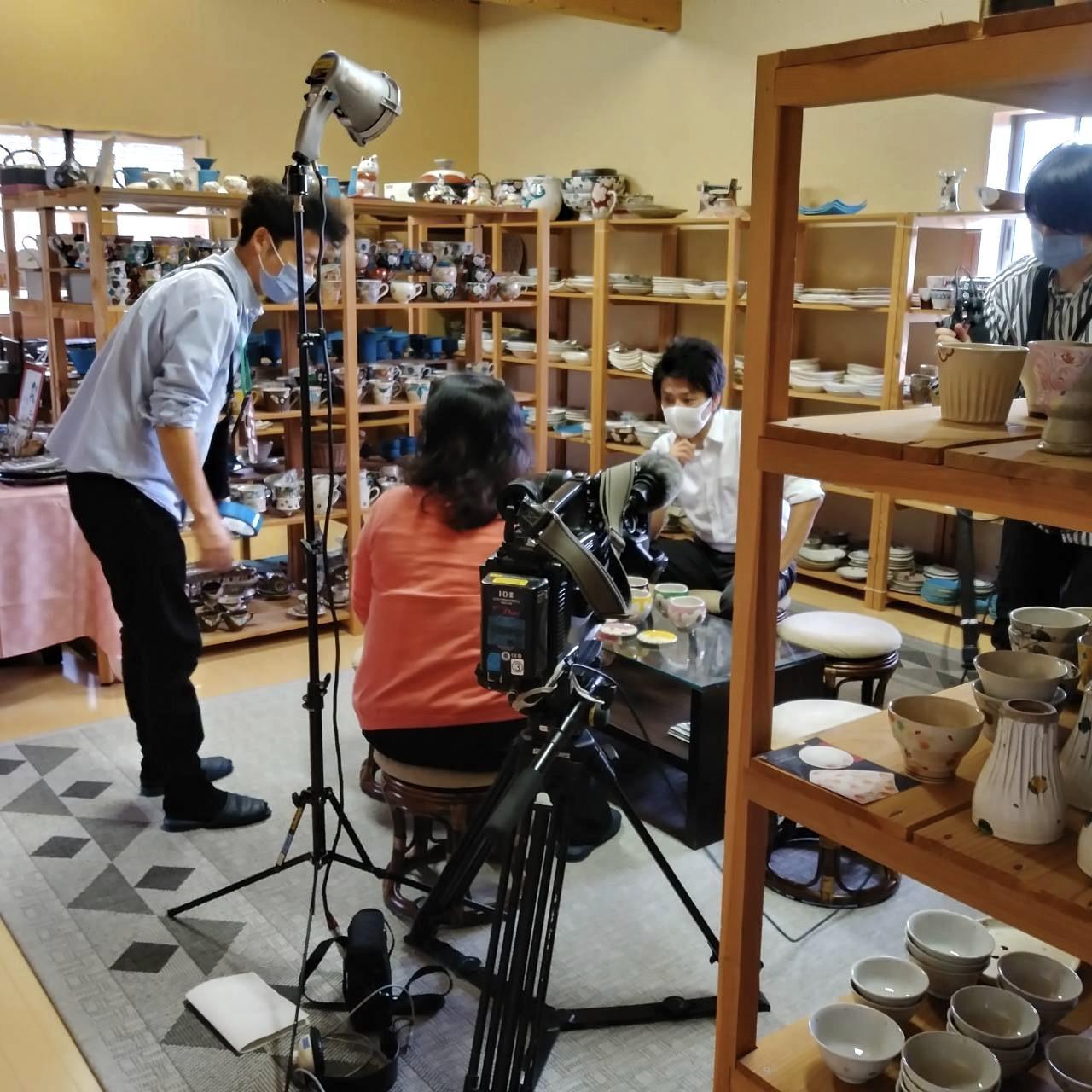 NHK 取材(1)