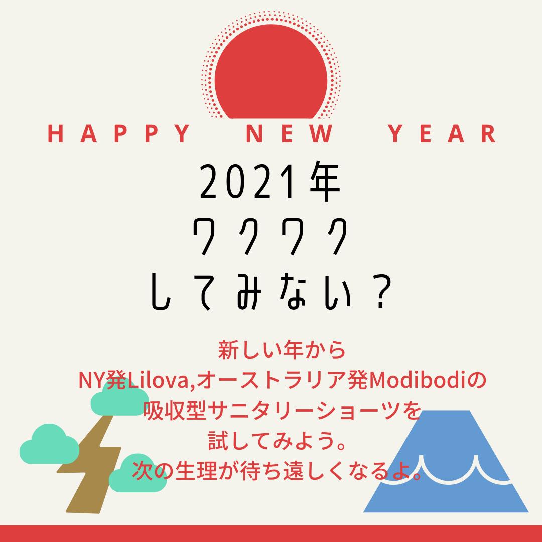 2021年。新しい年からワクワクしてみよう。