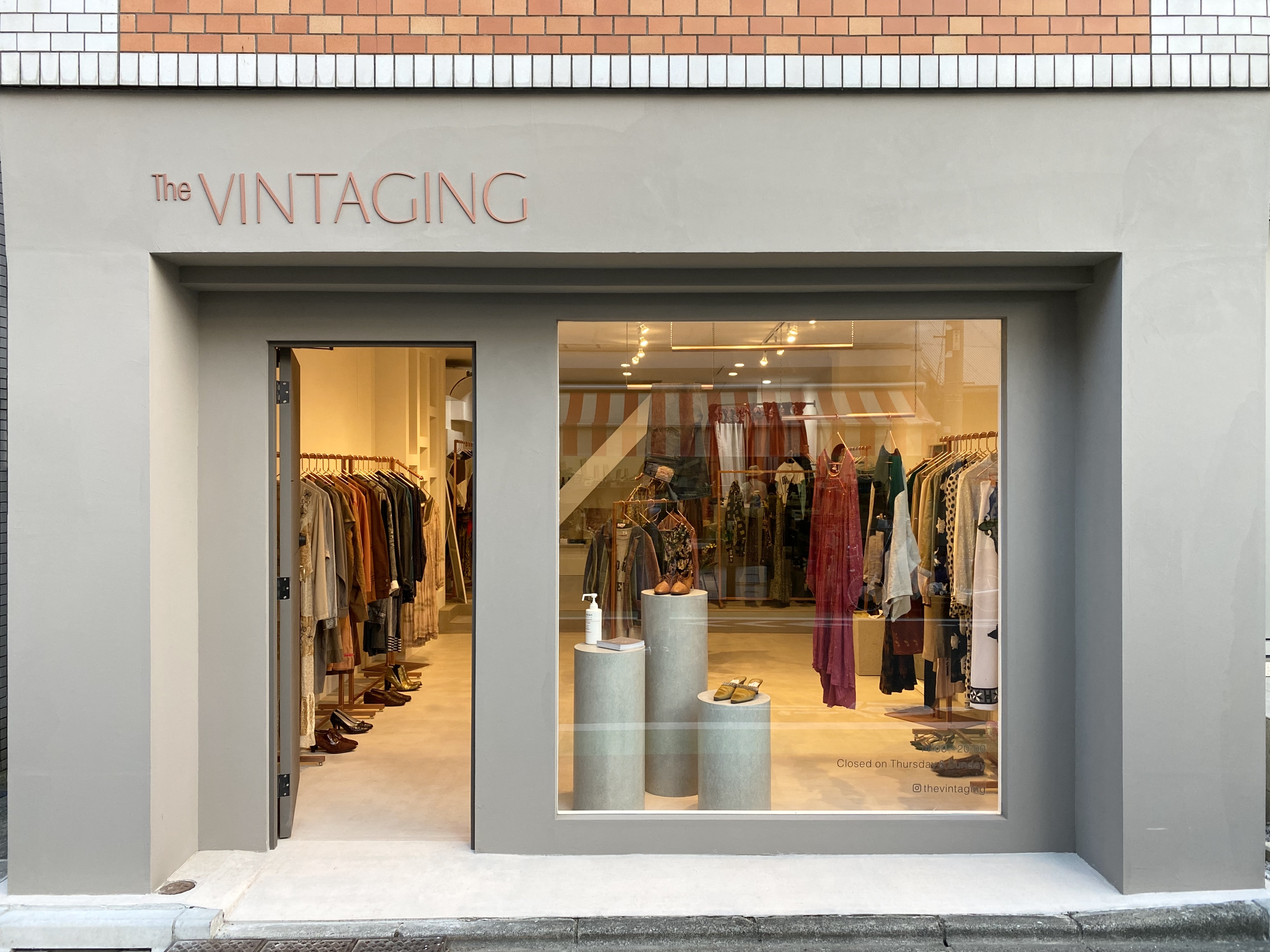 The VINTAGING flagship store grand open!!