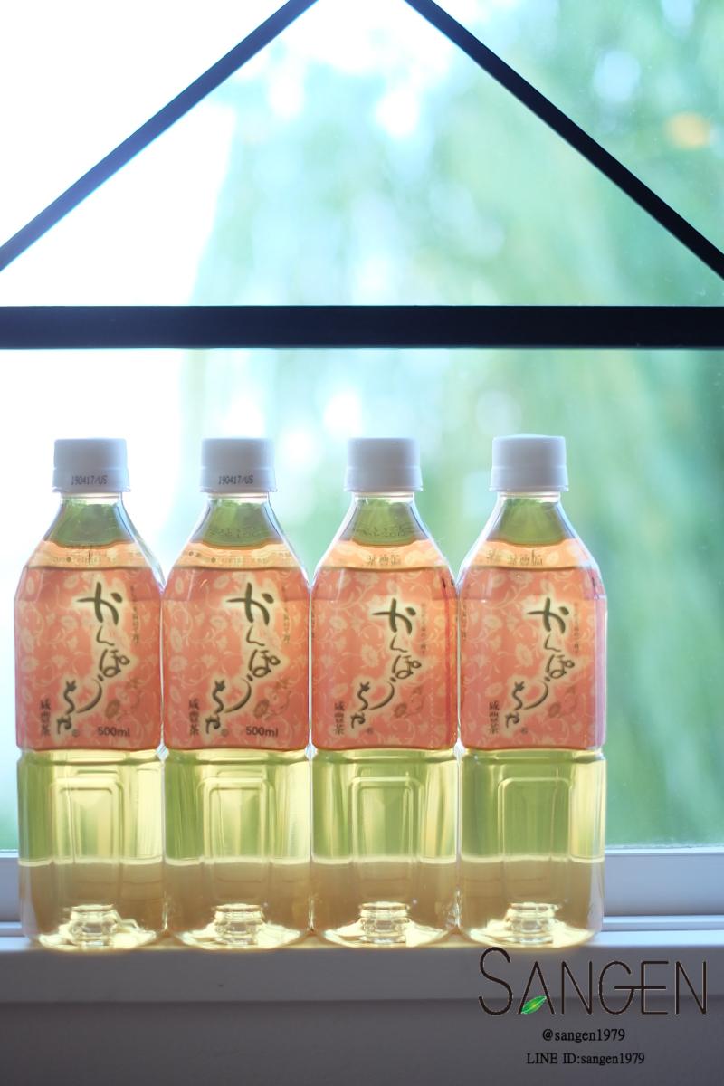 水の硬水と軟水の良さを合わせもったかんぽう茶ペットボトル