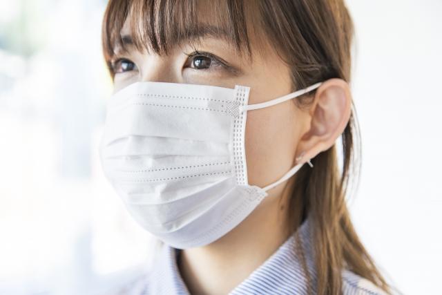 マスクによる肌荒れ改善!