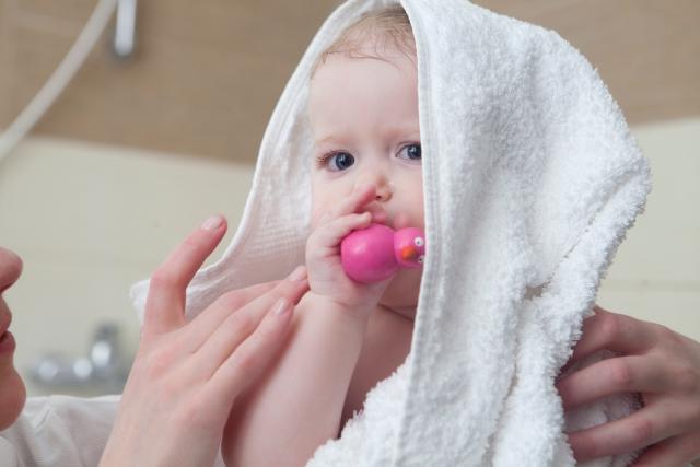 おくるみタオルは新生児から幼児まで大活躍!