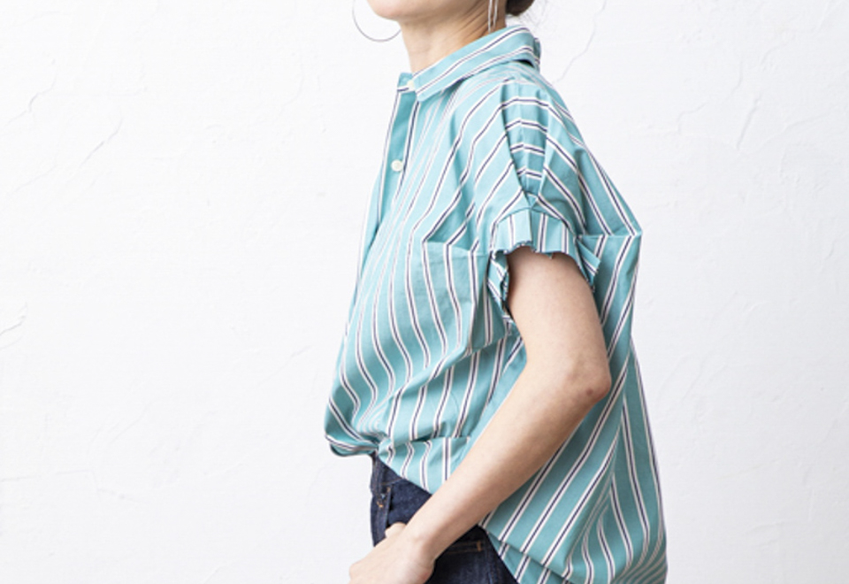 RECOMMEND ITEM『Tuck Sleeve Shirts』