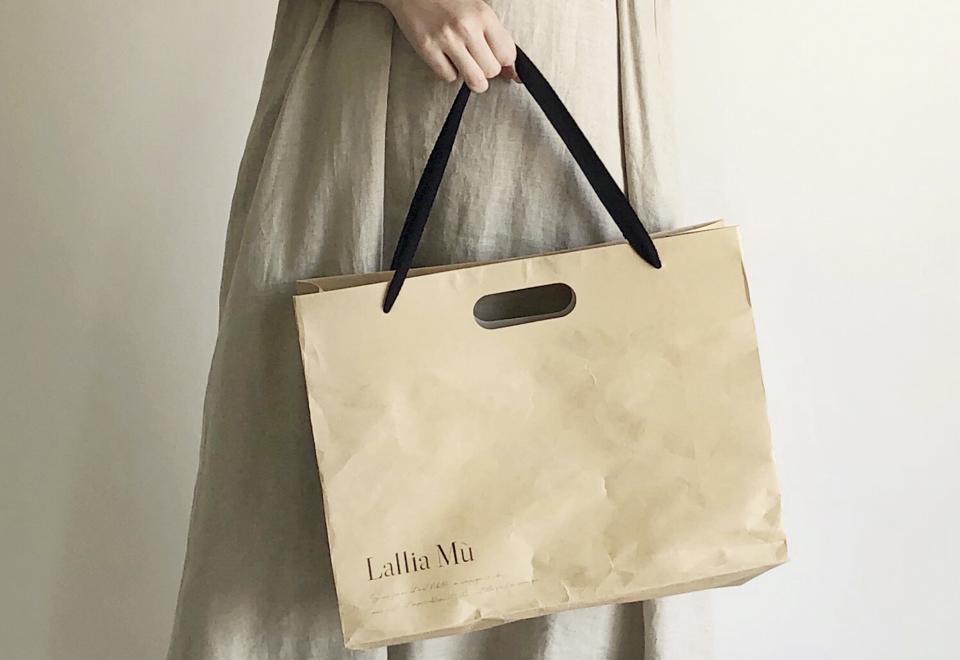 PICK UP『Lallia Mu ORIGINAL SHOP BAG🏷』