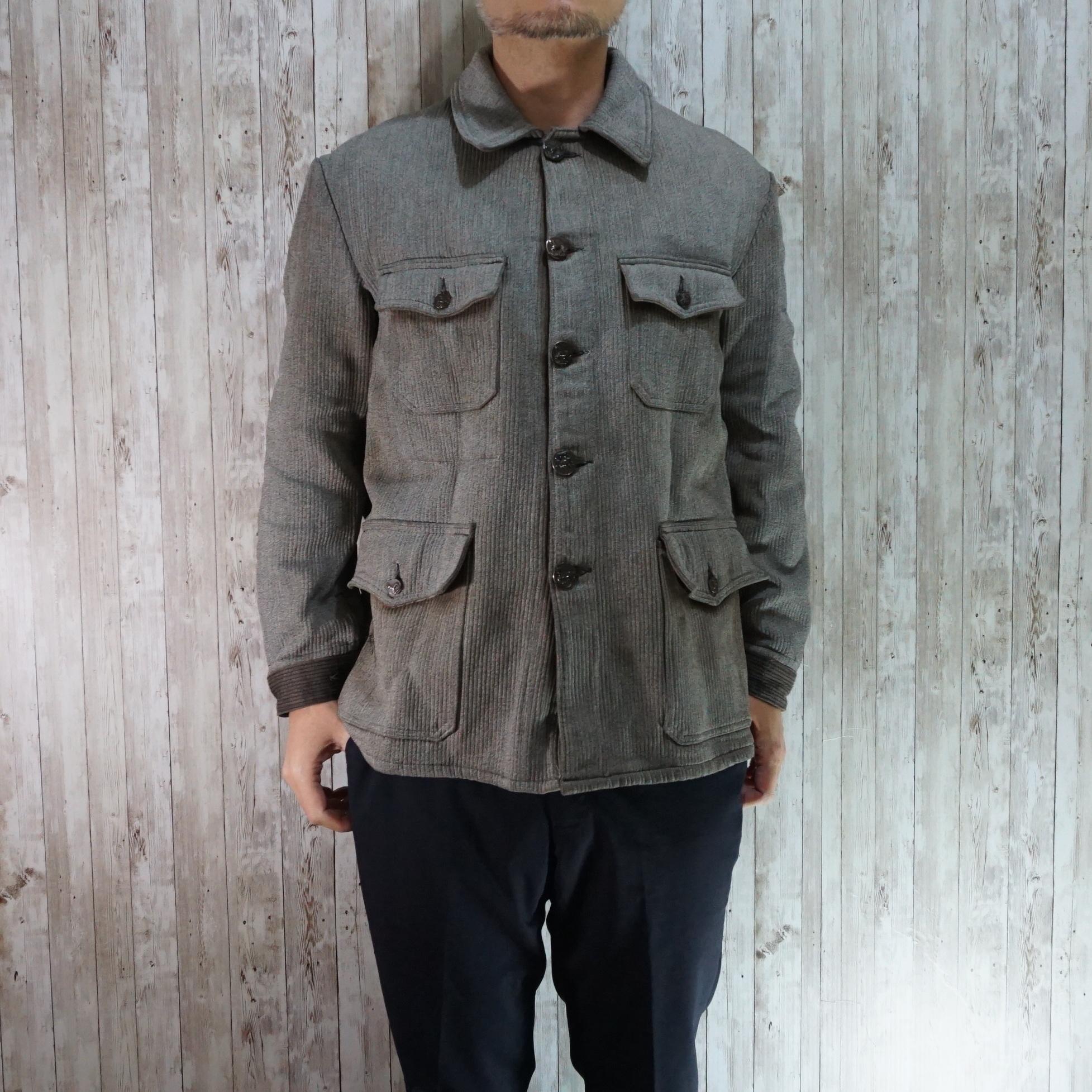 フレンチヴィンテージの代表格ハンティングジャケットはファンならば必ず一つは持っておきたいジャケットで