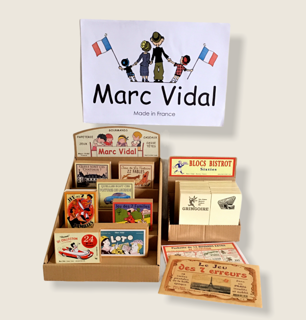 フランスMarc Vidal 社のパリ雑貨入荷しました♪