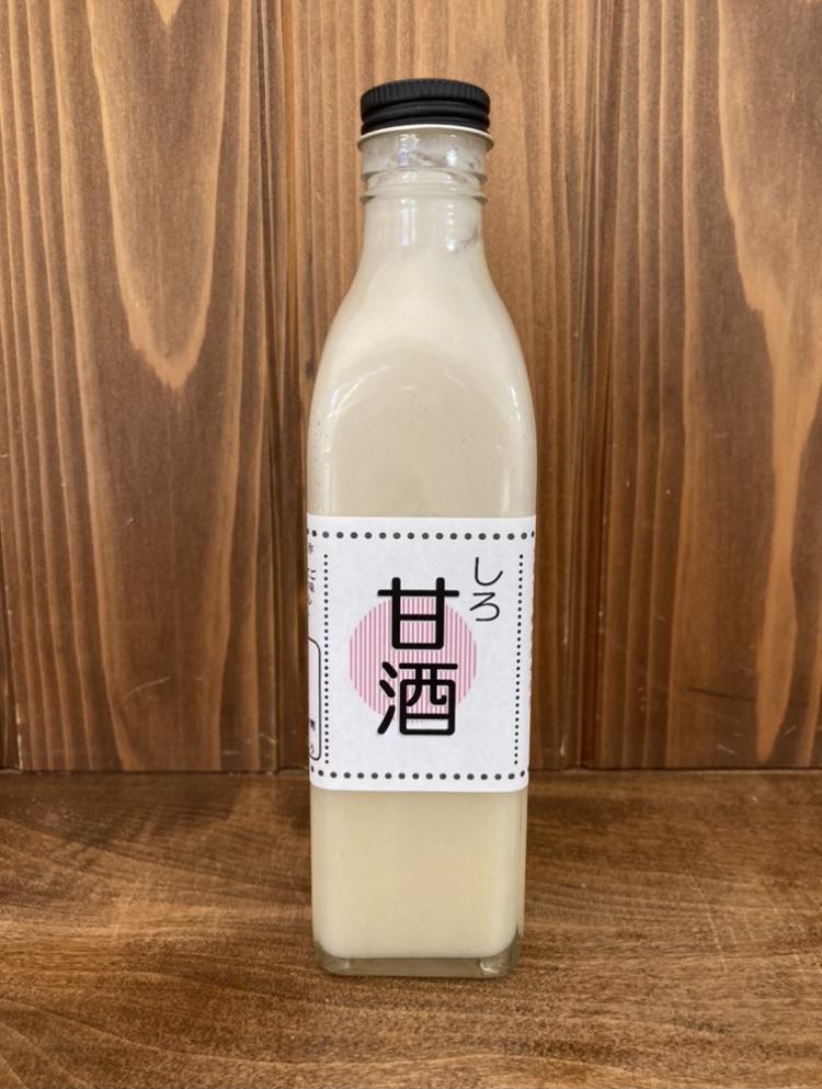 新商品【濃厚甘酒】販売スタート!