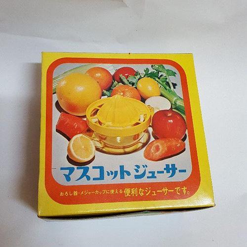 昭和レトロな絞り器&メジャーカップ