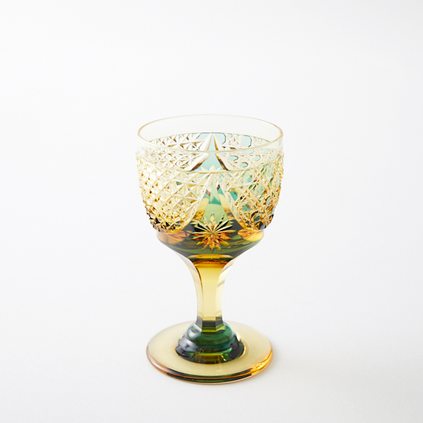 江戸切子の店 オンラインショップにクリスタルガラスの食前酒グラスを追加しました