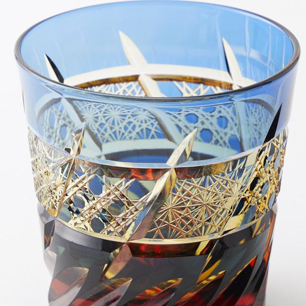 江戸切子の1点物ロックグラスを追加しました。