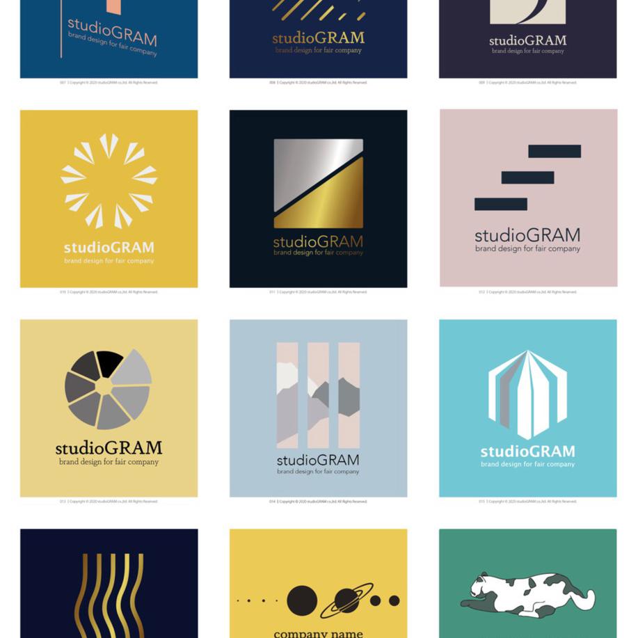 ロゴマークはあなたのブランドへの入り口です。