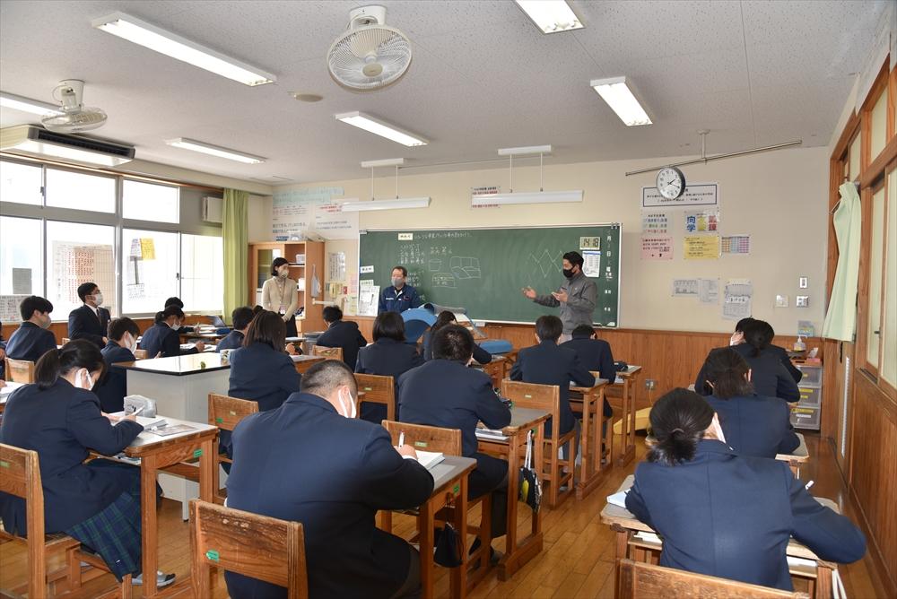 一般社団法人NINAU様主催、キャリア教育活動「おとな先生」