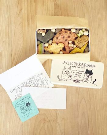 6月のイノセント cookie tins