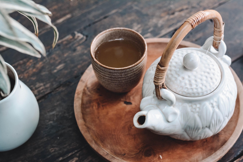 夏だからこそ温かいお茶
