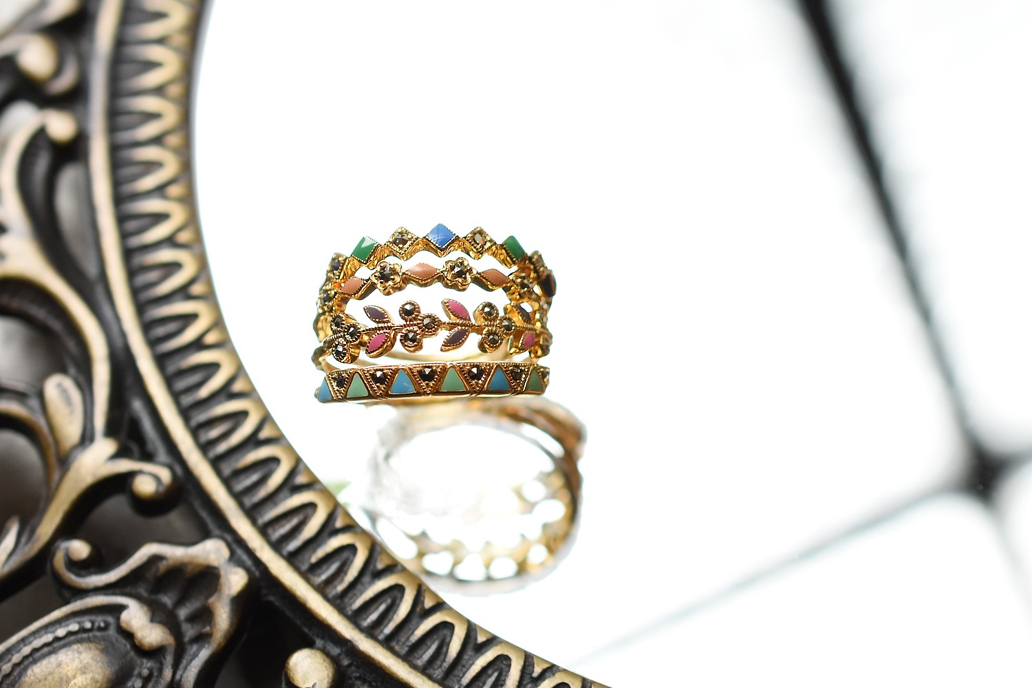stack ring  Mosaique  - モザイク -