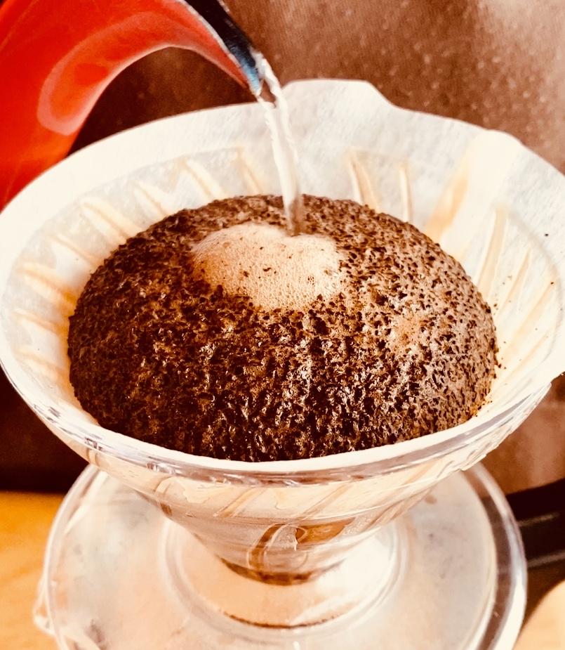 ハンドドリップで美味しいコーヒーを淹れる