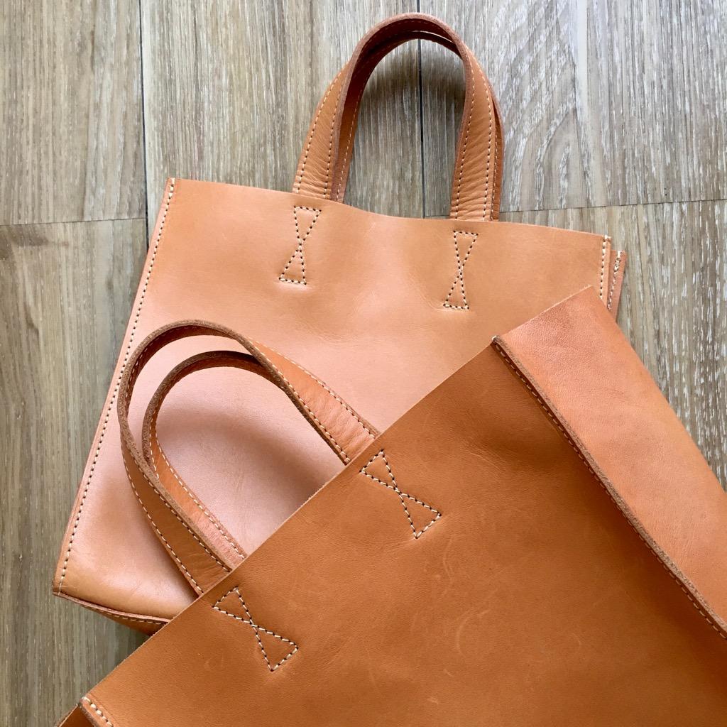 約10カ月使用した手提げバッグ