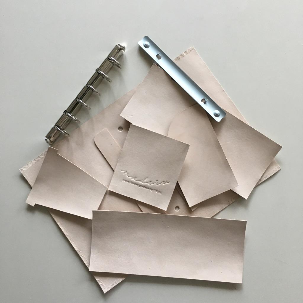 naderu(ナデル)のシステム手帳(ミニ6サイズ)の内装について