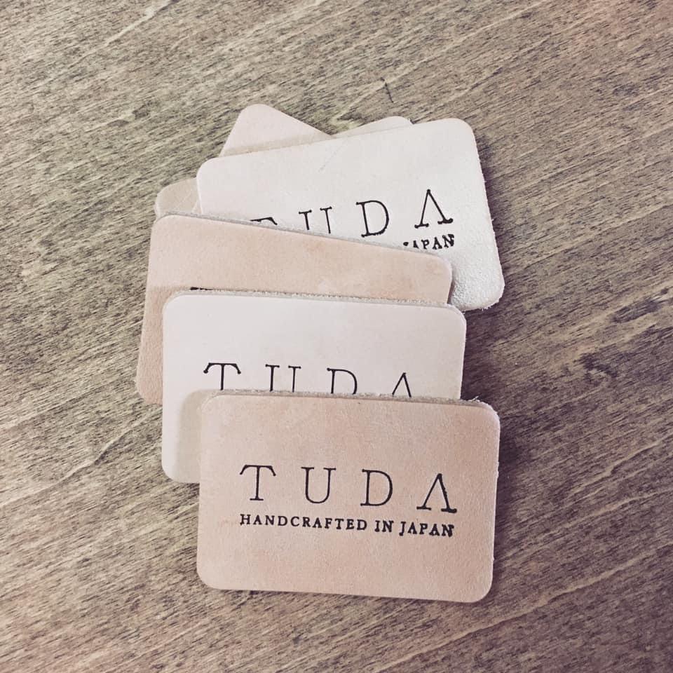 TUDAのネームタグ。1年ぶりの生産です。