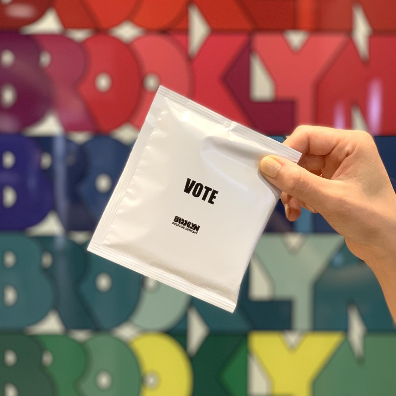 STORY BEHIND VOTE DRIP BAG