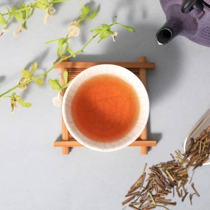秋に飲みたい、カフェインひかえめのほうじ茶