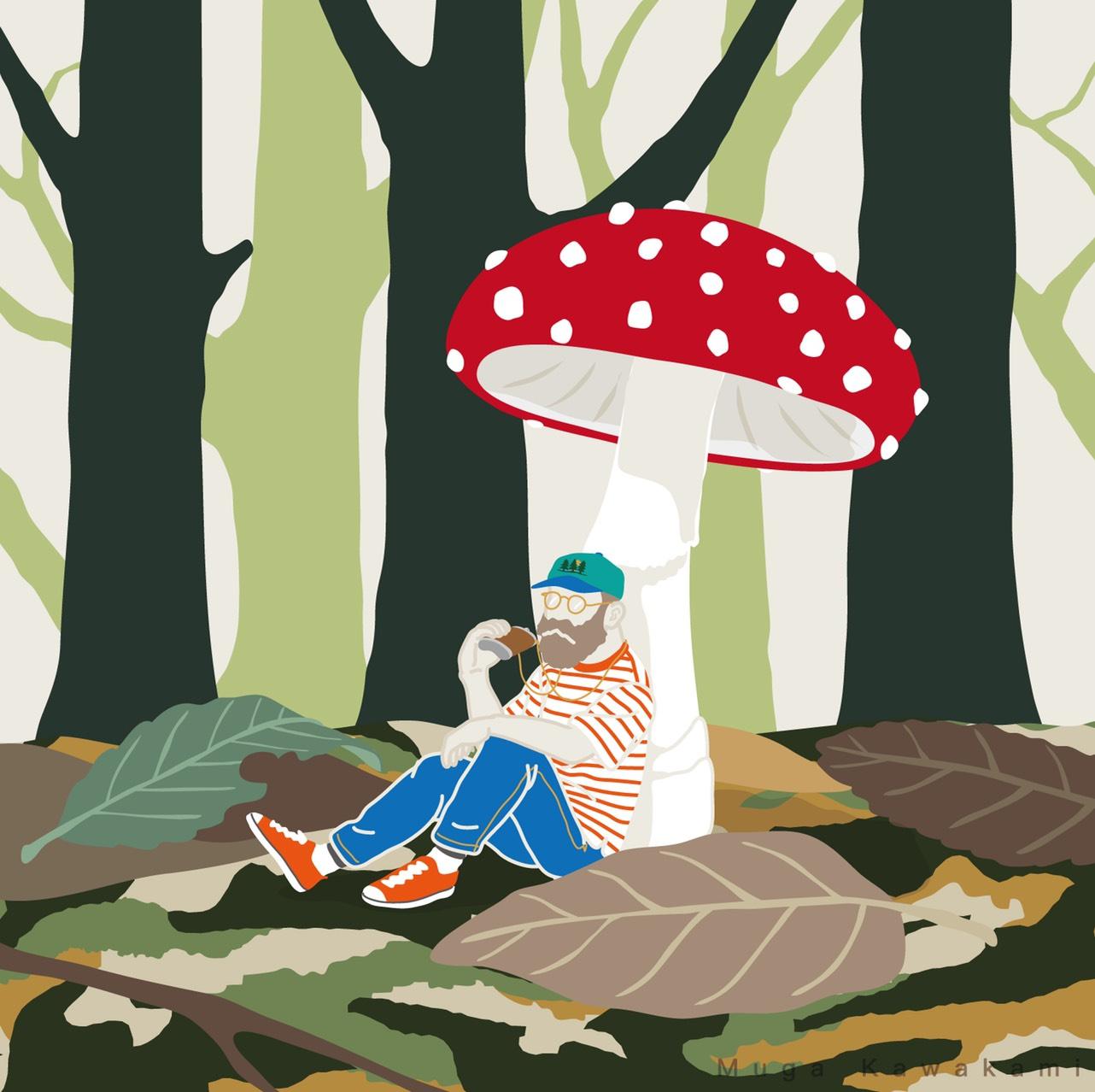 ーMuga Kawakami 個展ー 『森の中の小さなおじさん展』