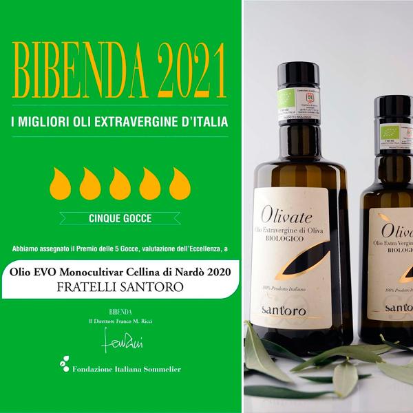 ☆今年のOLIVATEが 「BIBENDA2021」 で5星獲得!