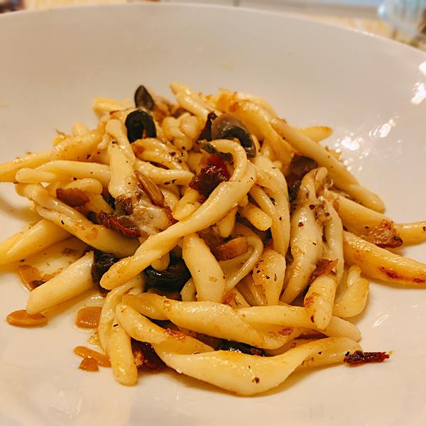 Ligorioのショートパスタはいつでも美味しい