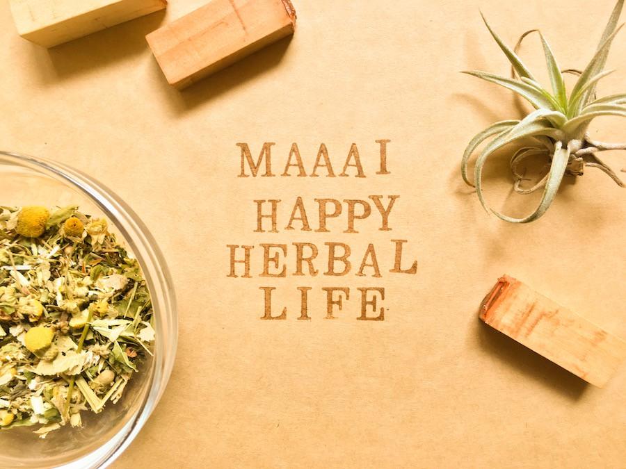 ドリンク紹介〜maaai happy herbal life〜