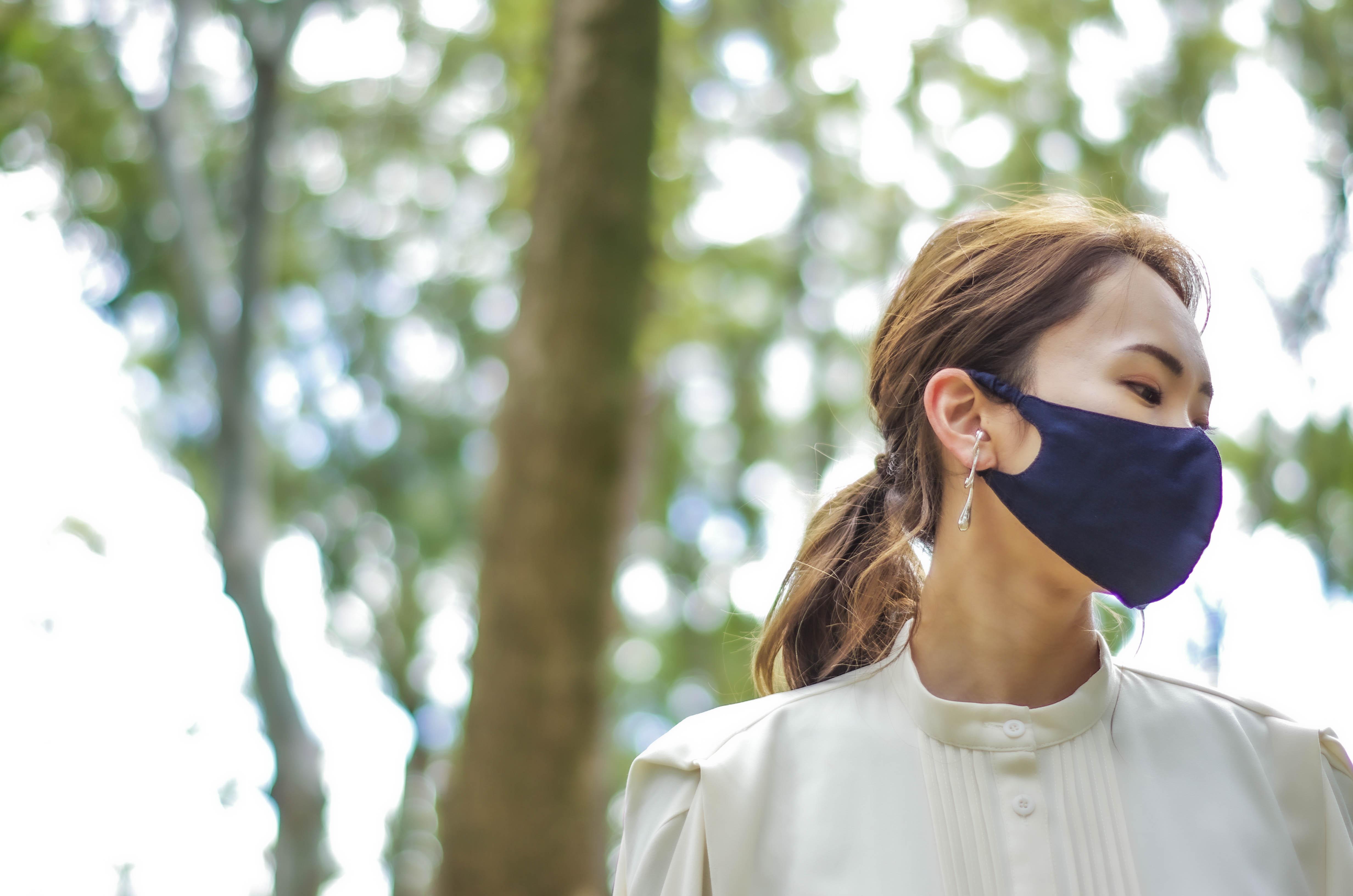 【天然素材の極上シルクマスク】約1ヶ月入荷待ちアイテムが6月25日発送予約の受付スタートしております