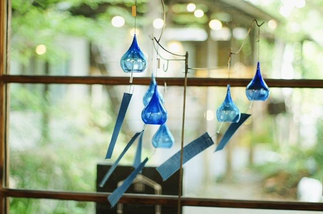 ブルーの風鈴