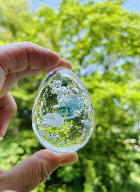 イパダガラスの「箱根の水」展