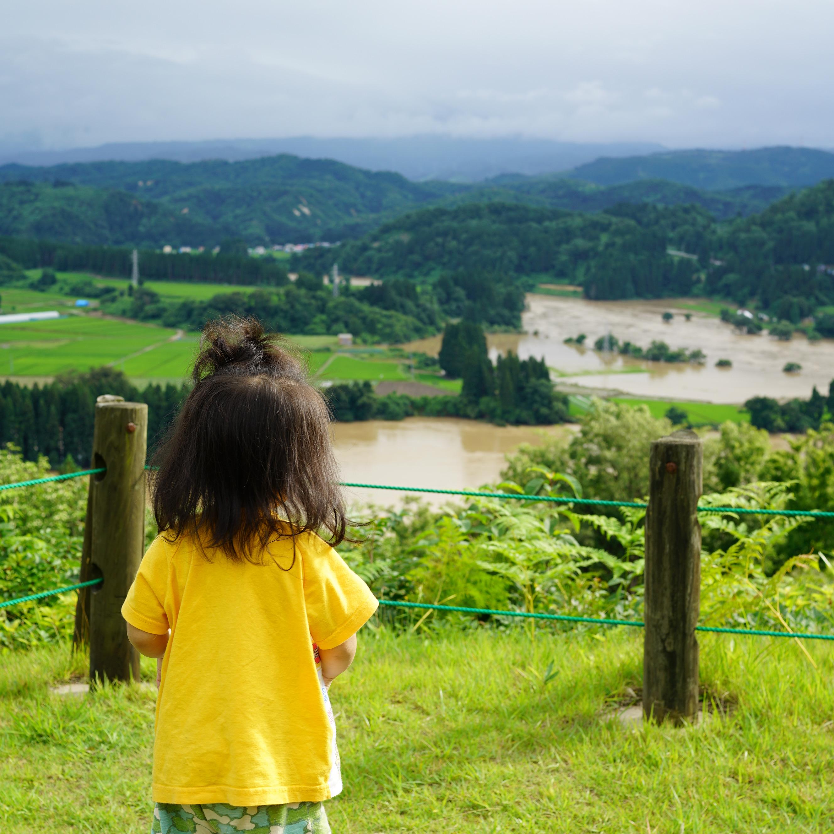 最上川・銅山川の氾濫