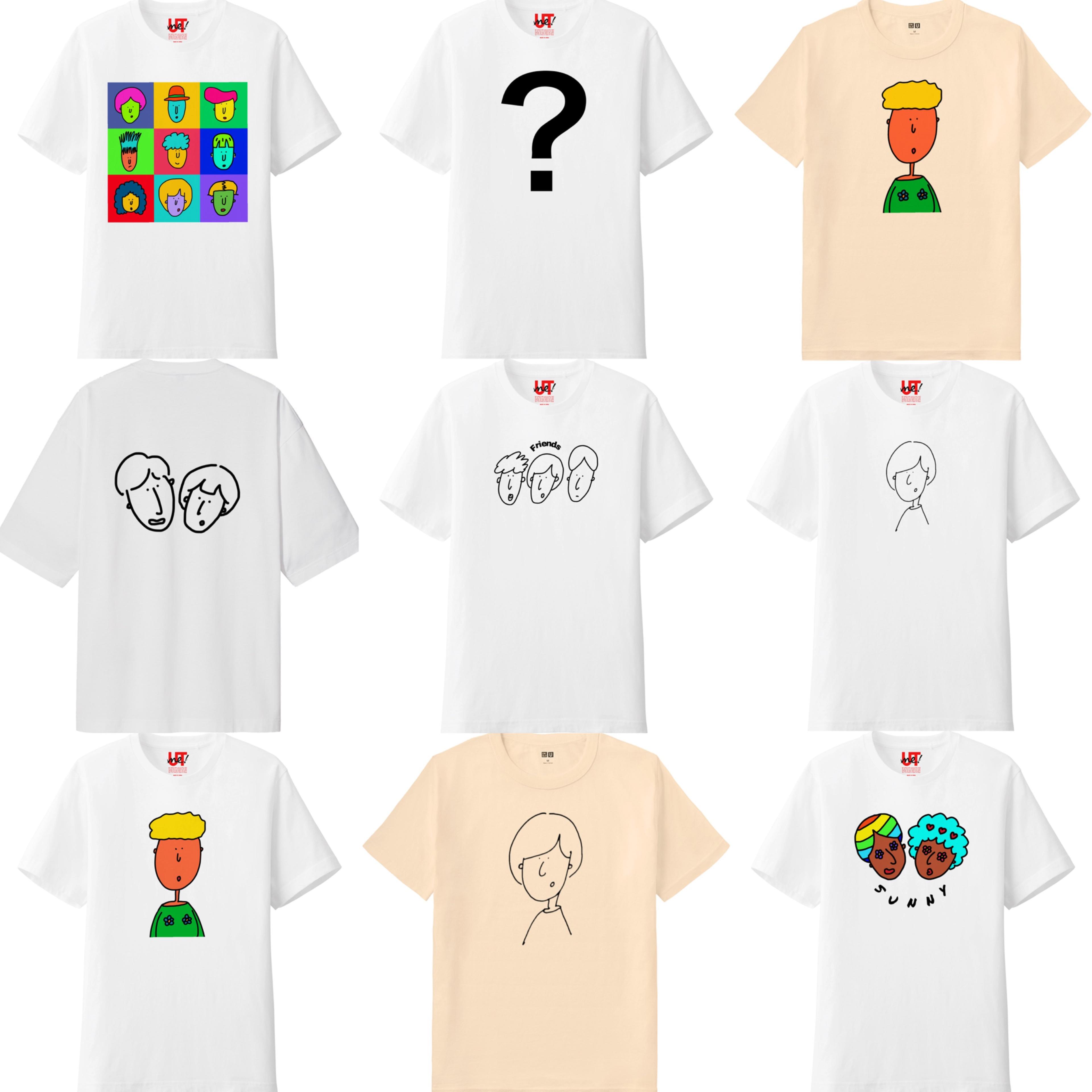 beep × PONA 個性あふれるT シャツが勢揃い♪