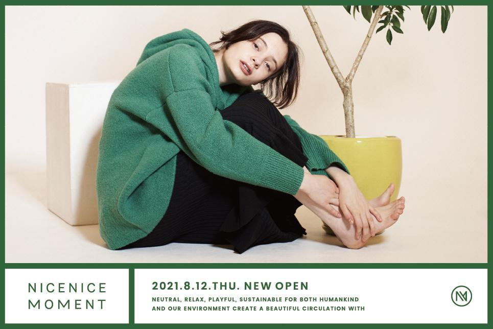 NICENICE MOMENT LUMINE SHINJUKU&Online Store Open!