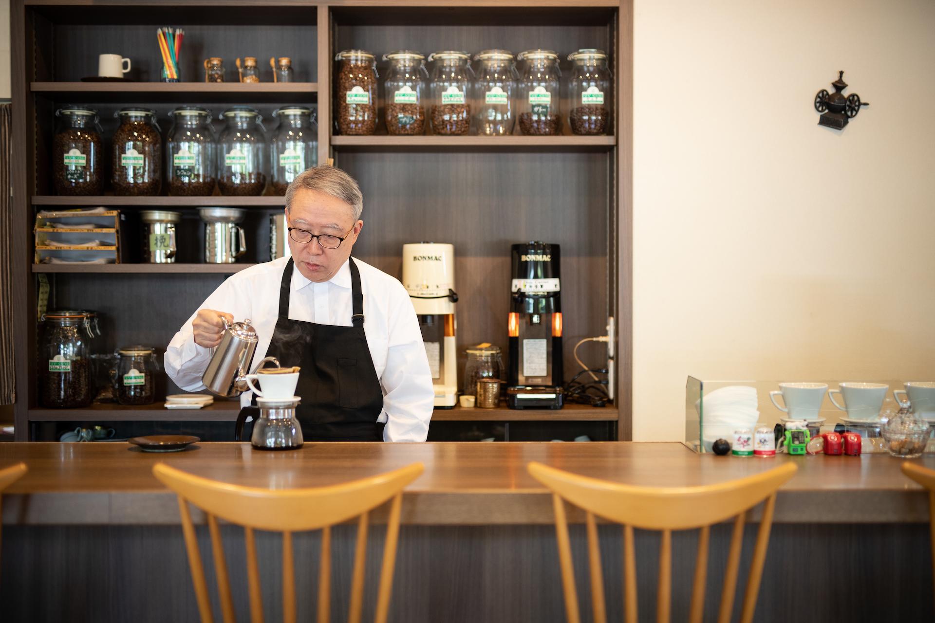 体に馴染む健やかなコーヒーの秘密は、真面目で誠実な富山のものづくりにあり