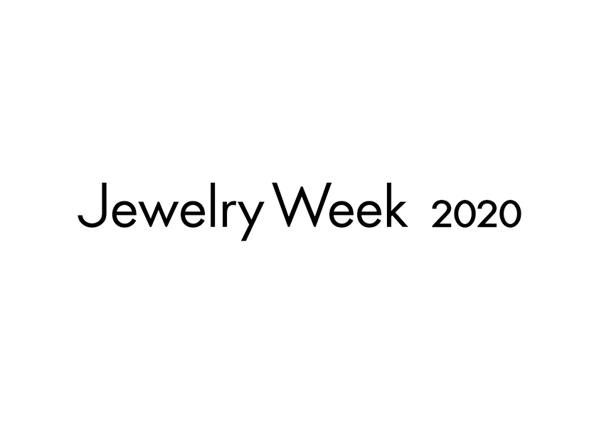 Jewelry Week 2020に参加させていただきます。