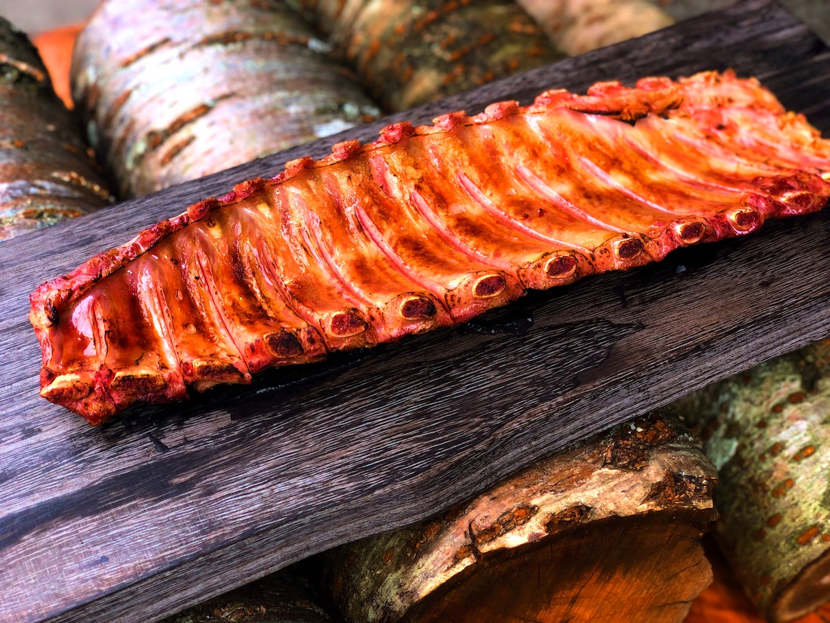 BBQ好きのお肉屋さんが本気で作ったバックリブスモーク