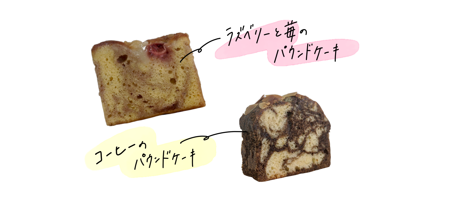 今週の焼き菓子(5/25〜5/31)