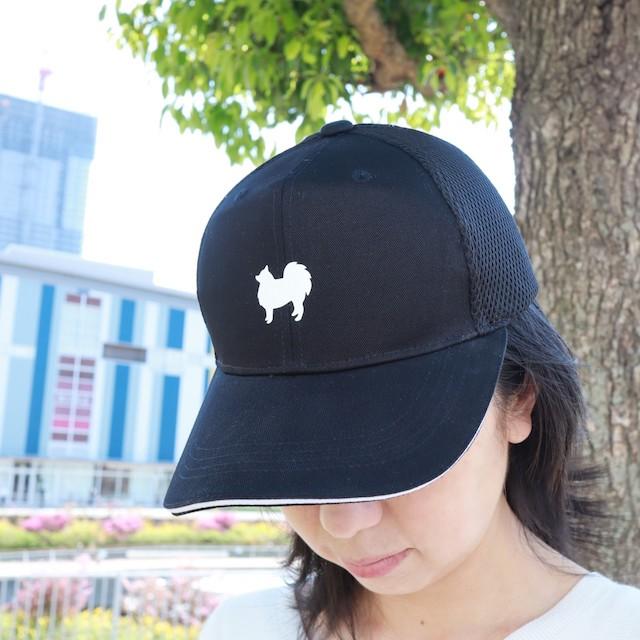 日本スピッツのシルエットキャップ(帽子)の新しい写真を追加しました。