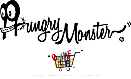 HUNGRY MONSTER Online Store!