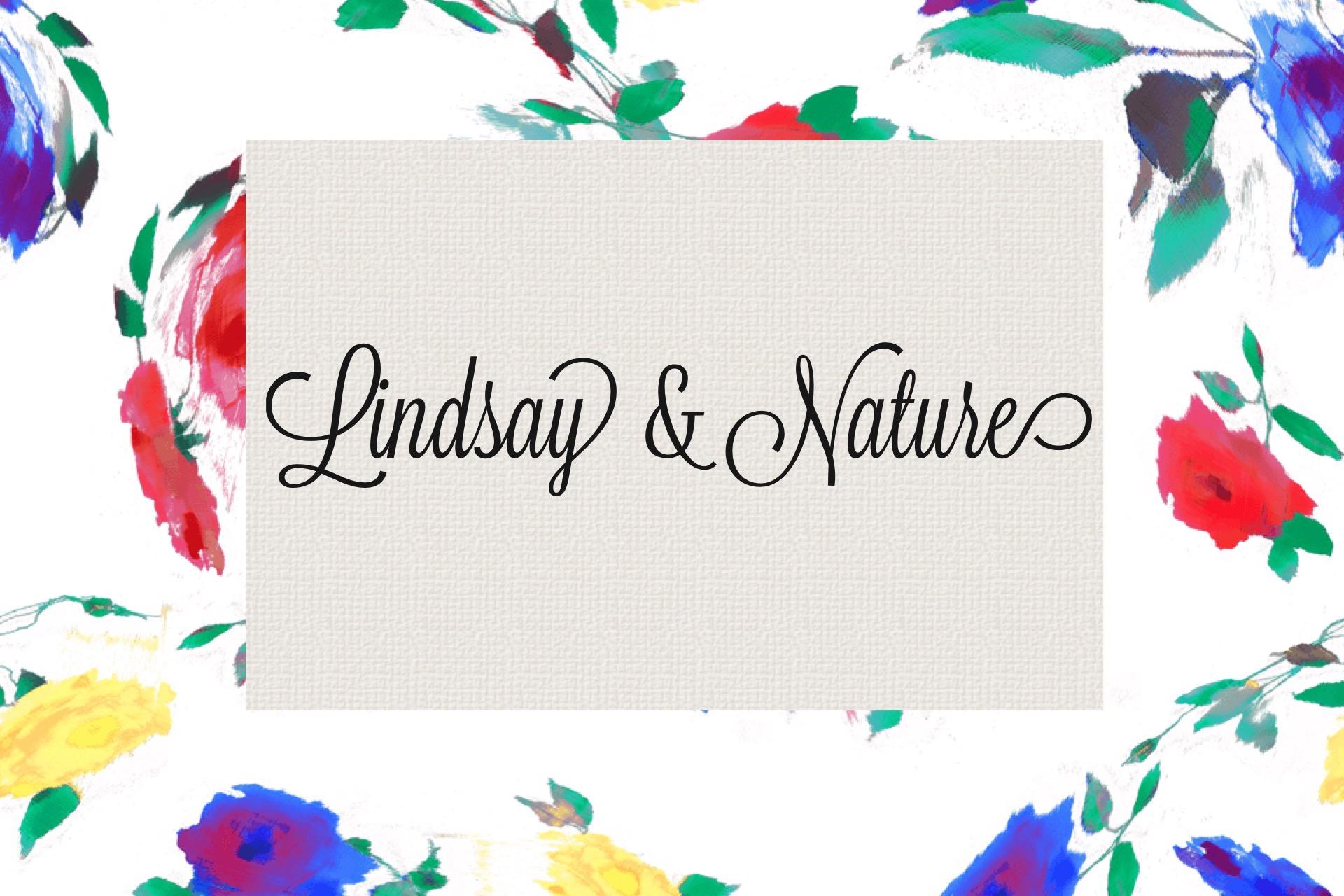 Lindsay & Nature