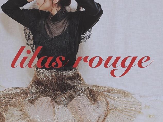 Used&Vintage lilas rouge