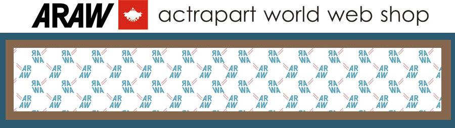 ARAW actrapart world web shop