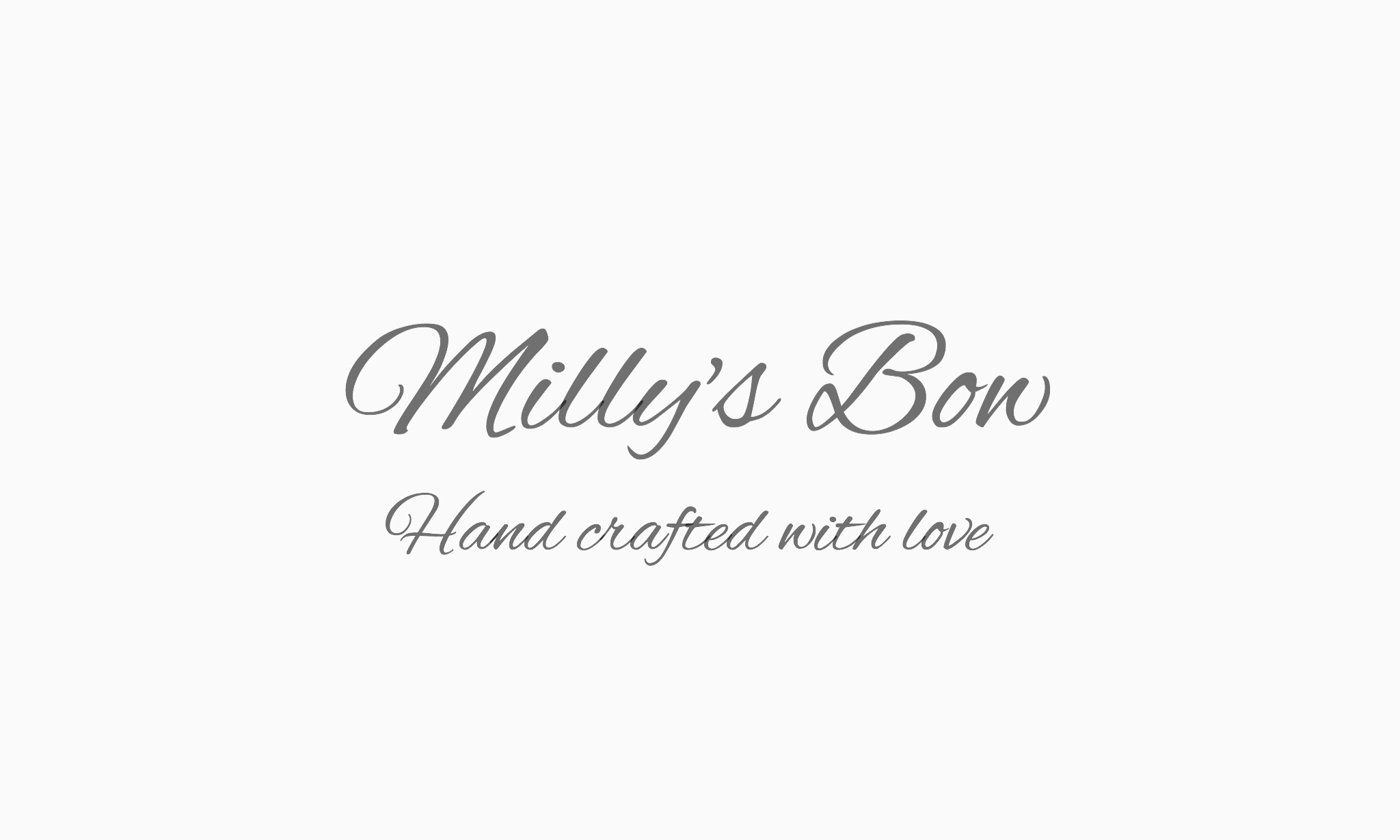 Milly's Bow