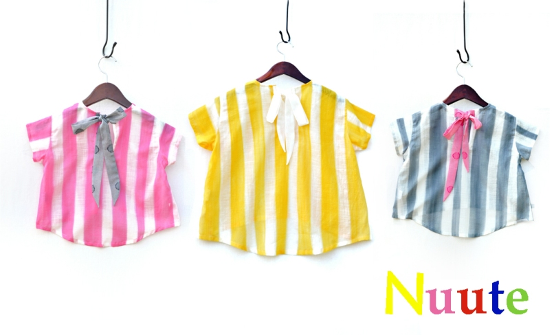 Nuute online SHOP  -かわいいオリジナル子供服のお店-BASE