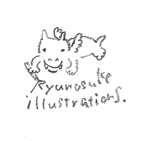 RYUNOSUKE ILLUSTRATIONS/SHOP