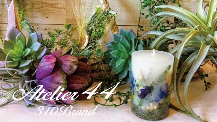 Atelier44 310Brand  Flower&Green&Candle and more...