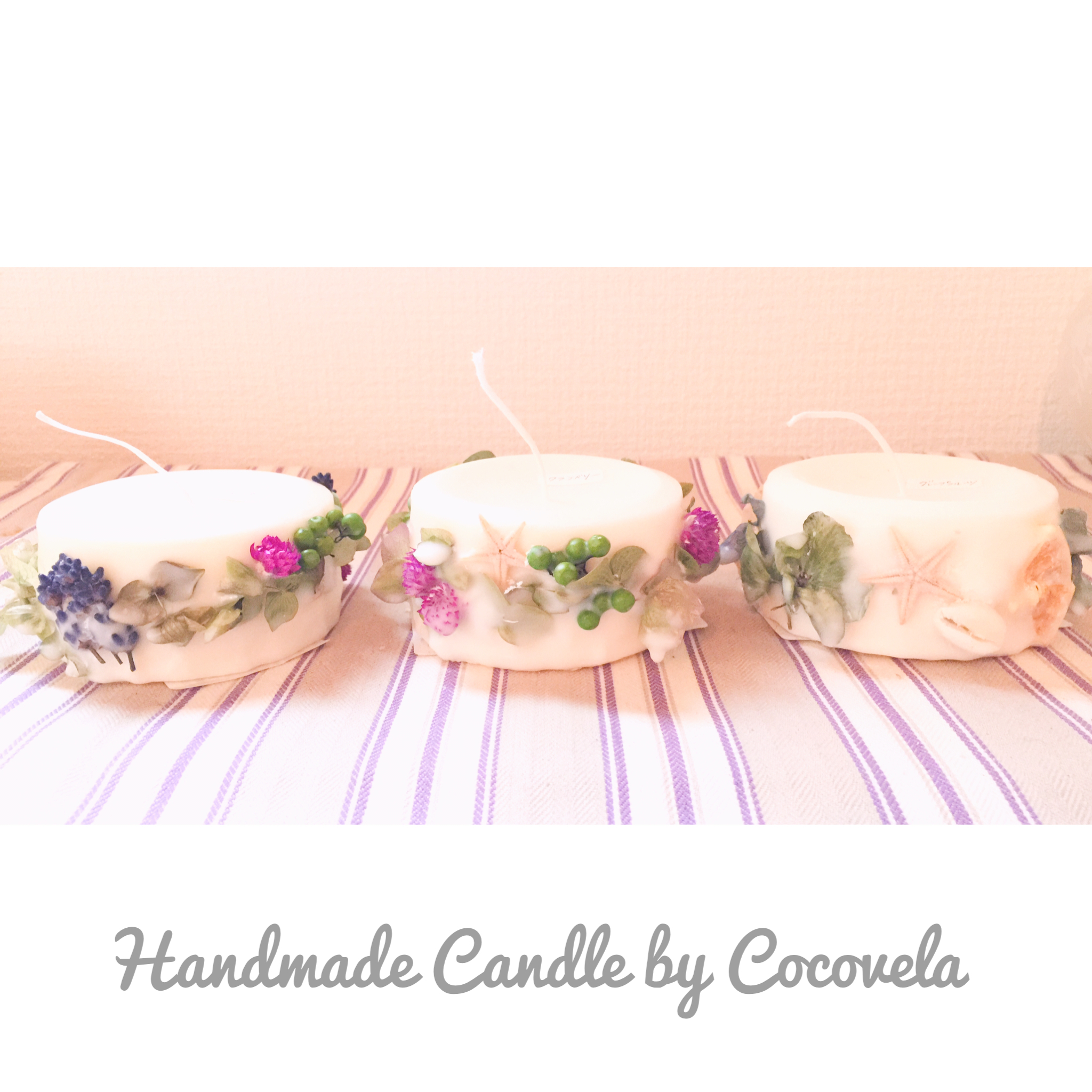 Handmade Candle by Cocovela♡